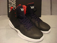 SPECTRE by SUPRA MEN'S MAGAZINE SP75050 BLACK RED WHITE SIZE 11.5 SHOES -  NEW