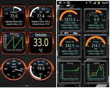 HH Advanced Car ELM327 OBD2 Bluetooth Diagnosegerät CAN BUS mit Torque