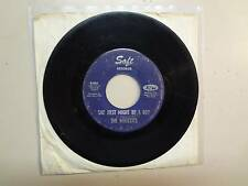 """WHOZZITS:She Just Might Be A Boy-Do What You Wanna Do-U.S. 7"""" Soft Records S-984"""