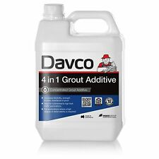 Davco 4 IN 1 GROUT ADDITIVE 1L Increases Strength & Water Resistance *Aust Made