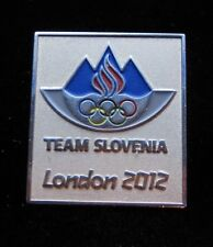 Team Slovenia London 2012 Pin Badge  olympic paralympic NOC Rare Dated Pin Badge