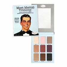 The Balm Cosmetics Meet Matt(e) Trimony Palette NEW (with 9 versatile shades)