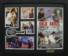 Cold Chisel Limited Edition Signatures Framed Memorabilia (b)