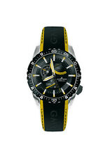 JACQUES LEMANS 1-1584C Liverpool GMT Yellow + band New