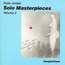 Solo Master Pieces, Vol. 2; Duke Jordan CD, Jazz Piano SteepleChase New