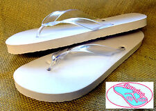 20 prs x Dancing Flip Flops. Wedding Soft Off-White Ladies Flip Flops (52S)