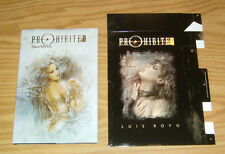 Prohibited Sketchbook HC VF/NM with slipcase LUIS ROYO heavy metal hardcover art