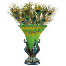 Peacock Royal Plumage Decorative Stylish Bird Vase
