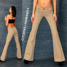 CITIZENS OF HUMANITY  Sexy Damen Jeans Chino Hose Schlag  Vintage Beige Gr.27