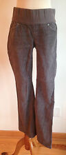 GAP 1969 Maternity Pants Sexy Boot Cut Gray Corduroy Size 25