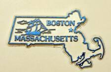 ▓ BOSTON MASSACHUSETTS U.S STATE  FRIDGE / REF MAGNET COLLECTIBLE SOUVENIR
