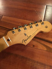 2014 Fender Stratocaster Strat SE Classic '50s RI Maple Tint Neck Tuners Plate