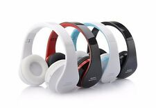 Headset Foldable Bluetooth Mic Microphone Headphones Noise Cancelling Wireless S