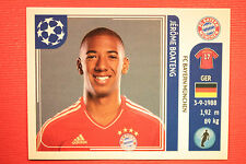 PANINI CHAMPIONS LEAGUE 2011/12 N. 11 BOATENG BAYER WITH BACK BLACK MINT!!