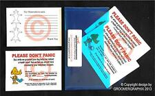DOG GROOMING *DON'T PANIC CARDS* stationery by GROOMERGRAPHIX