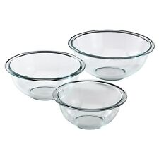 Pyrex Prepware 3-Piece Mixing Bowl Set, Clear   BOL