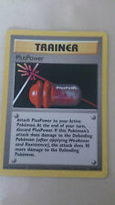 PlusPower Pokemon Card UNCOMMON Trainer [BASE SET]