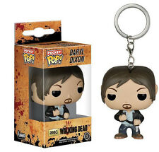 THE WALKING DEAD Keychain Daryl Toy Charm Keyring for Christmas Gift