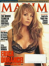 Erica Durance Maxim Magazine Oct 2007 Kid Rock Smallville