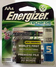 Energizer AA Rechargeable Power Plus Batteries 4-Pack 2300 mAh