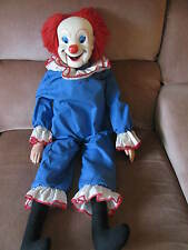VINTAGE VENTRILOQUIST PUPPET BOZO THE CLOWN