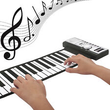 61 keys Roll up Digital Soft  Flexible Piano Electronic MIDI Keyboards For Child