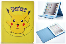 For Apple iPad Pro 9.7'' inch Great Pokemon GO Pikachu Stand Folio Case Cover