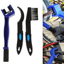 3 In 1 Motorcycle Bicycle Chain Gear Cleaning Brush Scrubber Cleaner Tools Kits