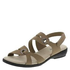 NEW CUTE TAN  SLINGBACK SIZE 13 WIDE BY COMFORT PLUS---472