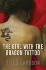 The Girl with the Dragon Tattoo by Stieg Larsson (Hardback, 2008) New Book