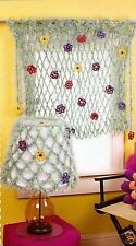 FAR-OUT Fur Accents/Window & Lamp Poncho/Crochet Pattern INSTRUCTIONS ONLY
