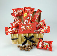WOW Ultimate MALTESERS Chocolate Hamper Gift Box  - BIRTHDAY Get Well UNIQUE