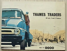 FORD THAMES TRADER Trucks Sales Brochure Aug 1958 #C5692/8/58