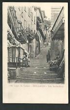 Bellagio ( Como ) : Via Serbelloni - non viaggiata , fine '800