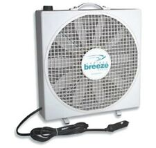 Box Fan White 12 Volt Stand Alone 3 Speeds