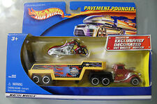 Hot Wheels 1:64 Scale 2001 Pavement Pounder DUNCAN'S CUSTOM MUSCLE BIKES