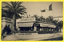 "CPA Photo Georges Alpes Maritime ? AMERICAN BAR DANCING RESTAURANT "" HERMITAGE """