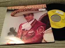 "ALEJANDRO FERNANDEZ SPANISH 7"" SINGLE SPAIN ONE SIDED NECESITO OLVIDARLA"