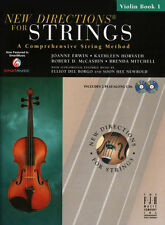 New Directions for Strings, Violin Bk 1 & 2 CDs