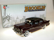 Brooklin Models BRK 201, 1955 Buick Special 2-Door Sedan, Red/Black, 1/43