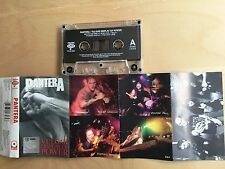 PANTERA - Vulgar Display Of Power MC RARE 1996 1'ST POLISH PRESS Polton
