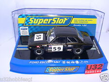 SUPERSLOT H3748 FORD ESCORT MKI #59 CRYSTAL PALACE 1971 BRODLE  SCALEXTRIC UK MB