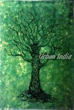 Indian Tree of life Cotton handmade art wall Hanging poster design tapestry 02