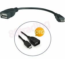 USB ON THE GO OTG HOST CABLE FOR Samsung Galaxy Tab S 10.5 8.4 Alpha Note 4 S4