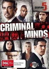 Criminal Minds: Season 5 R4 DVD NEW