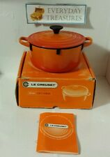 Le Creuset 2-Quart Round French Oven, Flame