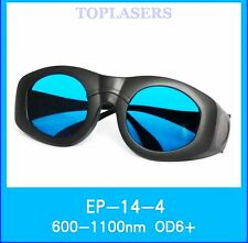 600nm-1100nm Laser Protection Goggles 980nm 1064nm YAG Safety Glasses OD6+ CE