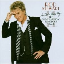 ROD STEWART - AS TIME GOES BY....THE GREAT AMERICAN SONGBOOK  CD 14 TRACKS NEU