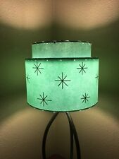 Mid Century Vintage Style 2 Tier Fiberglass Lamp Shade Modern Atomic Retro A/SF