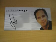original Gerhard Berger